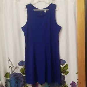 Old Navy Dresses - Old Navy A line dress sz XXL royal blue